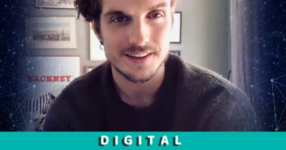 Daniel Sharman @ Fandom Vibes Digital 3 (May 16th 2021) ~ Powered by Kinetic Vibe