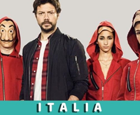 VOTE FOR: La casa de papel | Convention