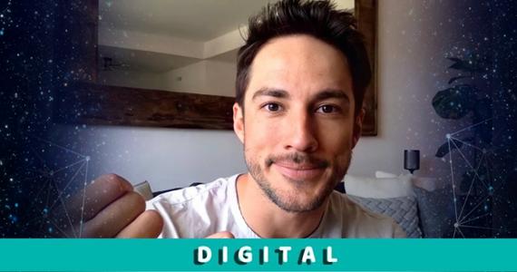 Michael Trevino @ Fandom Vibes Digital 4 (June 19th 2021) ~ Powered by Kinetic Vibe
